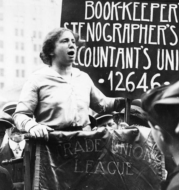 "Born on this day in 1882, Rose Schneiderman was a Polish-born American socialist and feminist.""What the woman who labors wants is the right to live, not simply exist ...the right to life, and the sun and music and art ...The worker must have bread, but she must have roses too."""