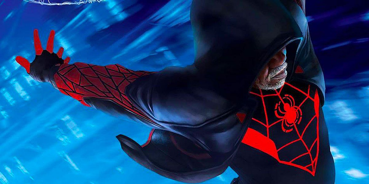 Old Man Miles Kicks Ass in Miles Morales: The End First Look (EXCLUSIVE) buff.ly/2qpdFYO @Marvel @saladinahmed @DamionScott2 @DonoSanMX