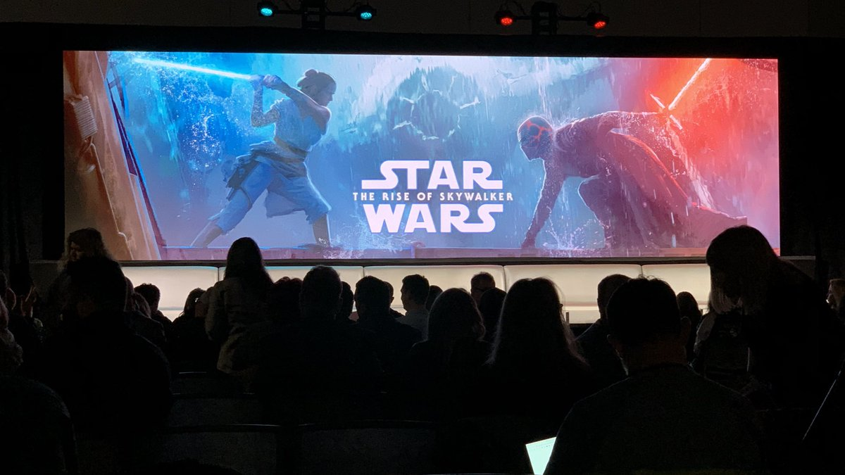 #TheRiseOfSkywalker press junket is about to start!