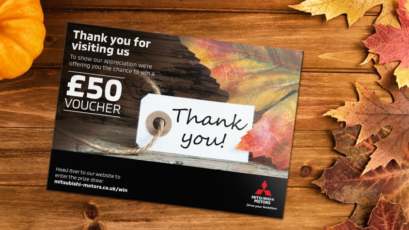 It's the season of giving, so if you've visited a Mitsubishi dealership recently we're offering you the chance win a £50 Gift Card! 🎁  All you have to do is enter at:
