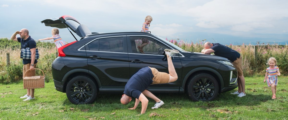 When your bundle of joy starts running circles around you the #EclipseCross may just become your sanctuary...   Find out if it suits you at:   📷: @DadDownload
