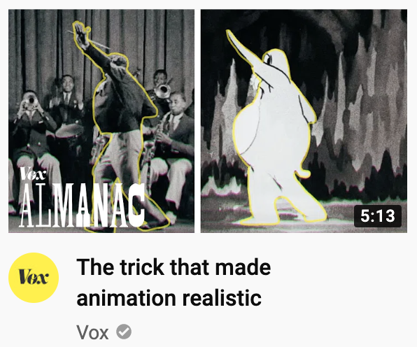 """the trick that made animation realistic"" <br>http://pic.twitter.com/2L1SwgY7wI"