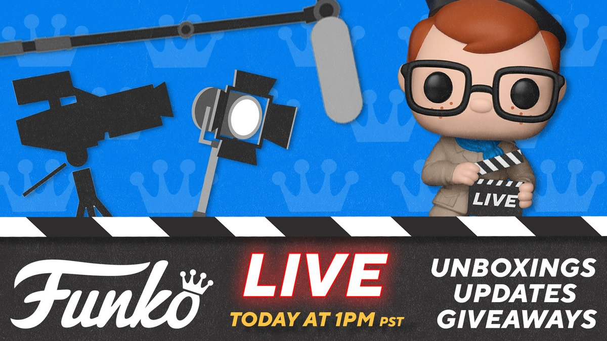 Join us for a festive LIVE unboxing extravaganza, coming your way later today! Were kicking things off at 1:00pm PST with the unboxing, Q&A and a giveaway. 🎥 Watch on Facebook, Twitter/Periscope, Twitch, Mixer or YouTube!