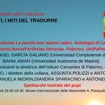 Image for the Tweet beginning: L'ultima sessione della nostra #giornatatraduzione6