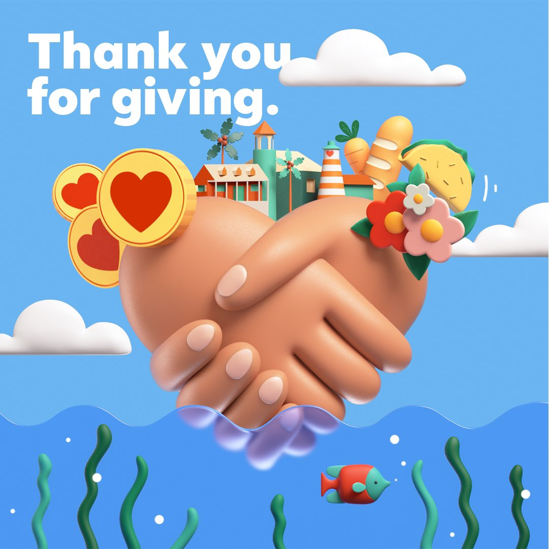 Thanks to our community for giving back on #GivingTuesday!
