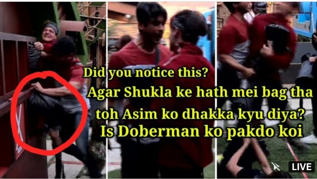 #EvictBhalu #EvictSidharthShukla  It was not a push by accident  It was a well planned push with so much force..  #Asim you have guts to go against this man and you did the right thing.  By #honestlyinsane<br>http://pic.twitter.com/qhWnSsRpRN