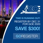 Earlybird registration ends Dec. 31! Save $300 by registering early for this year's Gathering of Eagles in Denver. Go Register! https://t.co/kdXsGYmaBl