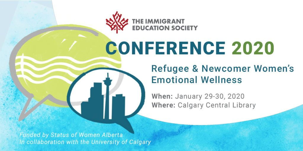 """Renfrew's Music Therapist, Fleur Hughes is presenting """"Group Music Therapy-A Music Based Framework for Promoting Positive Coping Skills"""" at the Refugee & Newcomer Women's Emotional Wellness conference, Jan. 29-30, Calgary Central Public Library."""