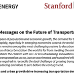 Image for the Tweet beginning: #Stanford-led group releases key messages