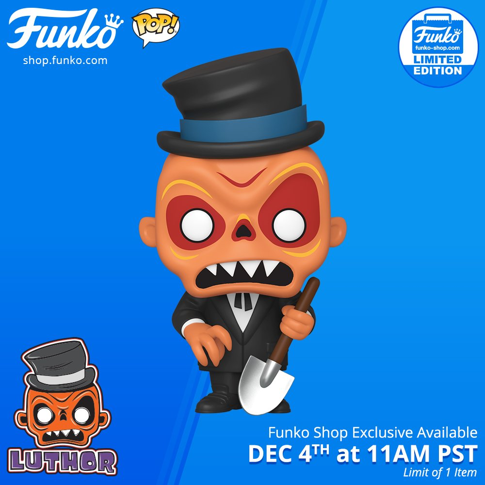 Funko Shop Exclusive Item: Pop! Funko: Fantastik Plastik - Luthor is NOW LIVE! funko.com/blog/article/f… Visit shop.funko.com NOW! #Funko #Pop #FunkoPop #FantastikPlastik