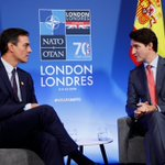 Imagen para el comienzo del Tweet: Le Canada et l'Espagne sont