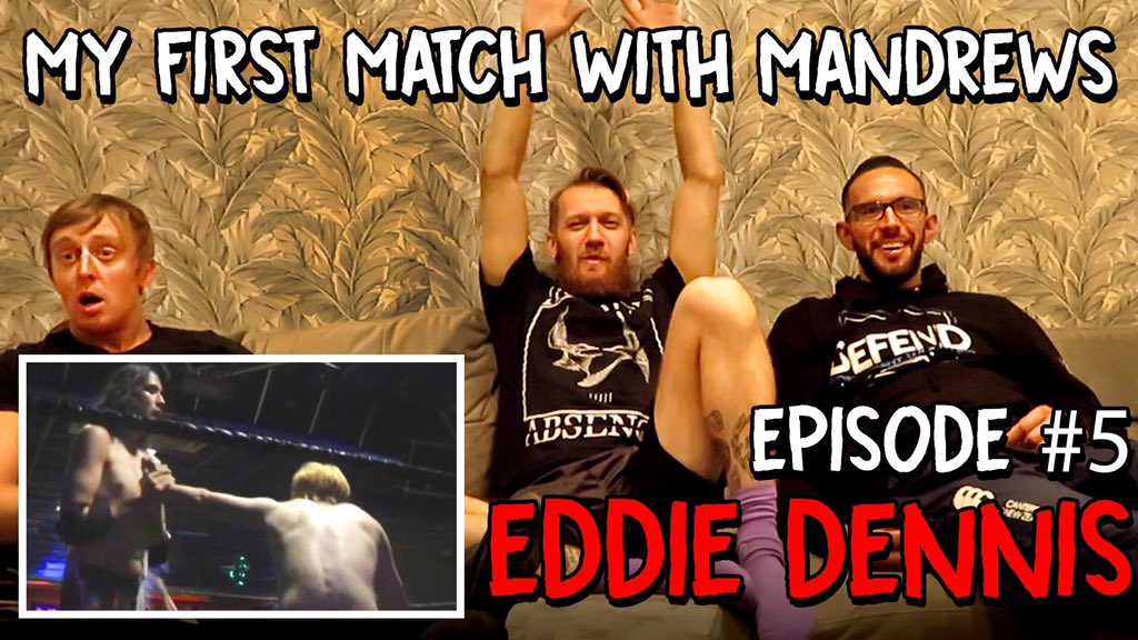 """Sat down with @EddieDennis1986 and @Flash_Morgan to watch Eddie's first match as """"Slippery"""" Eddie Lizzard.https://youtu.be/pQoJ8zQzRyoCheck it out and SUBSCRIIIBEEEE!"""