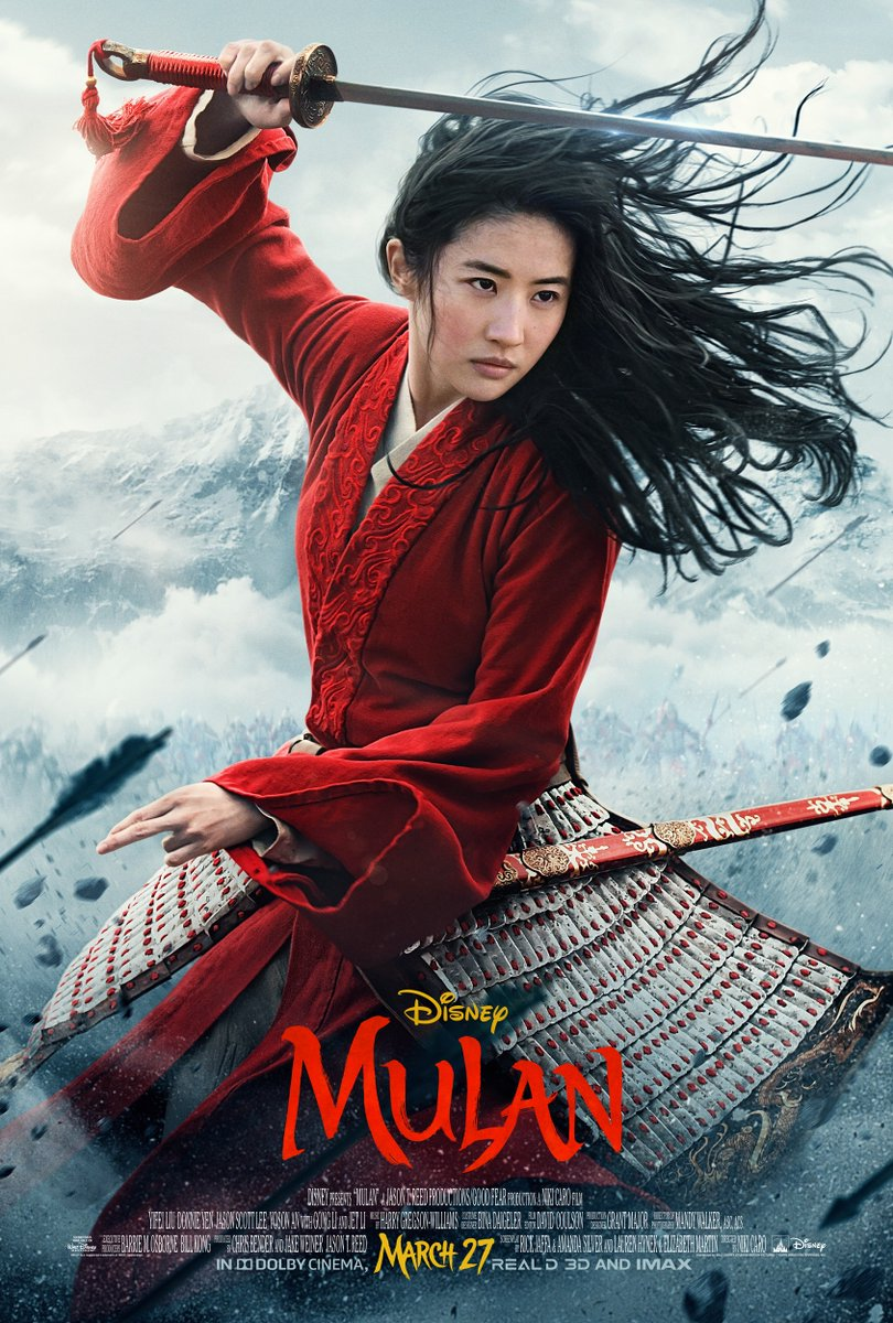 Mulan Strikes Her Battle Stance On A New Poster For Disney S