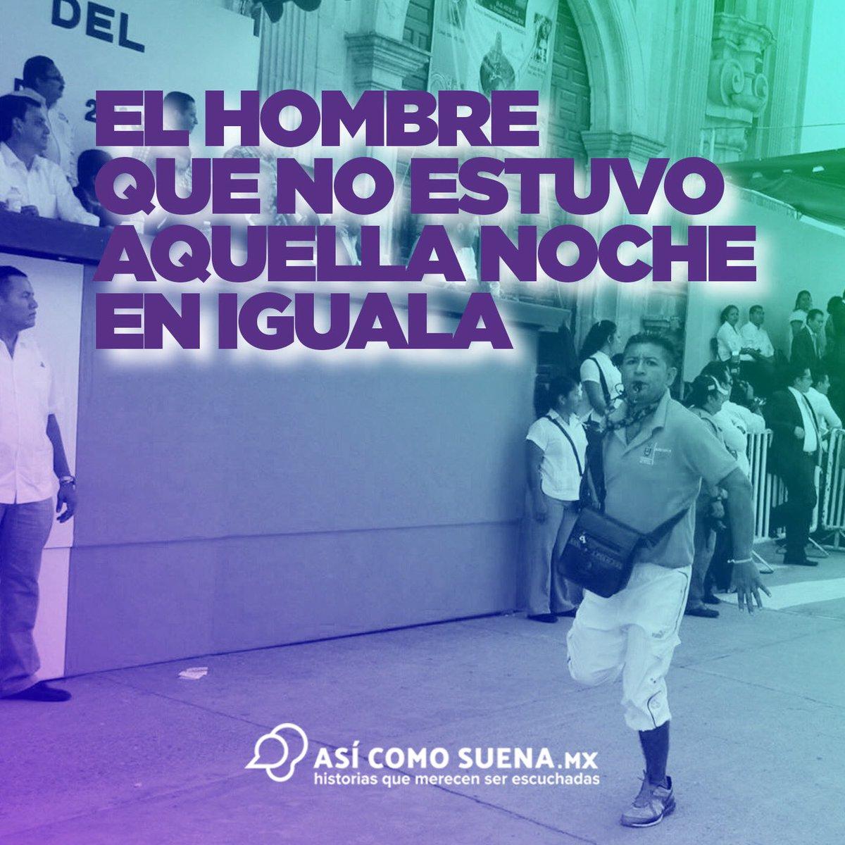 ¡Increíblemente felices y orgullosos por el triunfo del reportaje 'El hombre que no estuvo aquella noche en Iguala' de @galiagarciap en el #PremioNacionalDePeriodismo 2019 dentro de la categoría de podcast! ¡Gracias por todas sus felicitaciones!