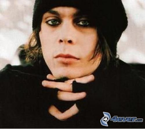 Happy birthday to Ville Valo of HIM