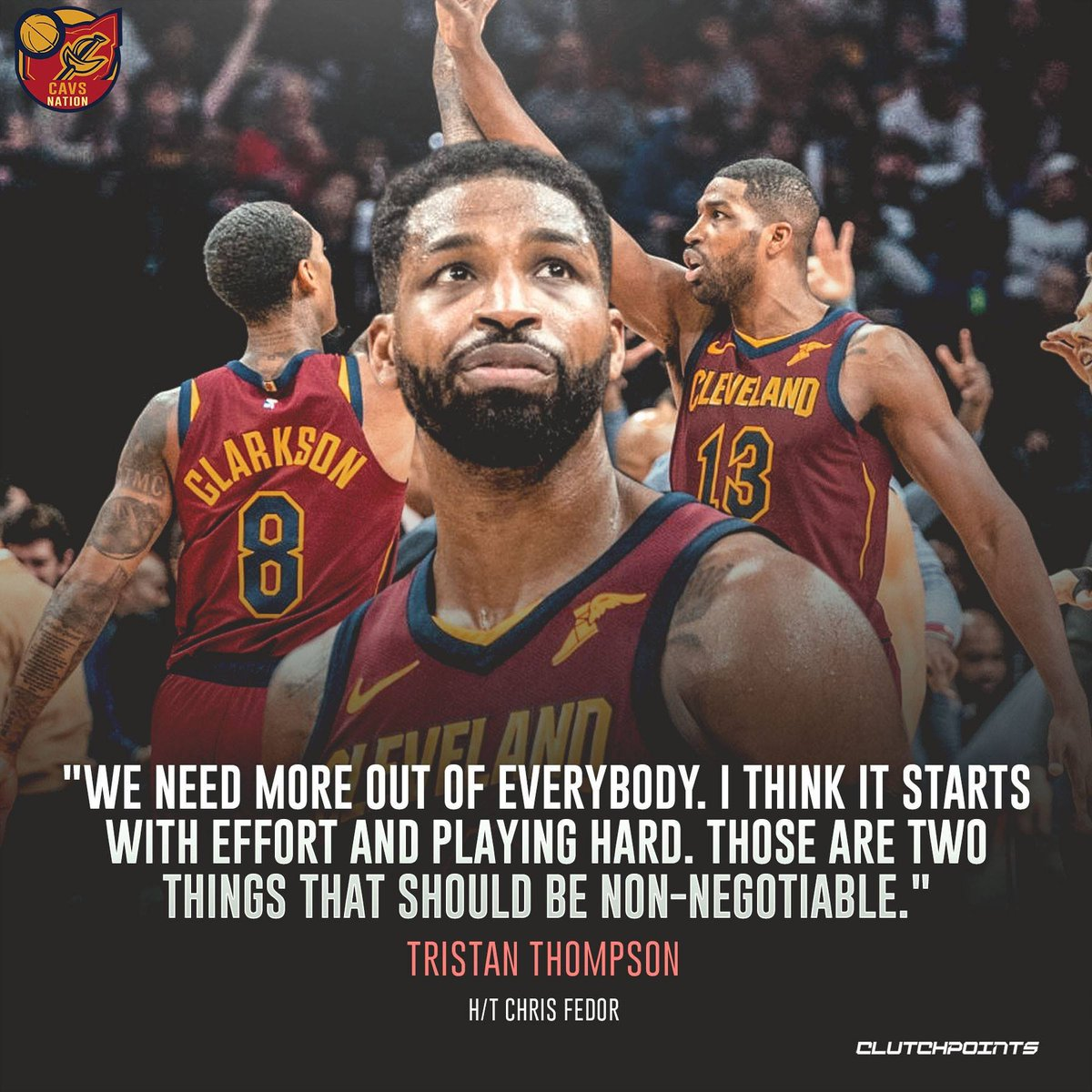 Never doubt hardwork. It will always pay off 👍 #Cavs #BeTheFight