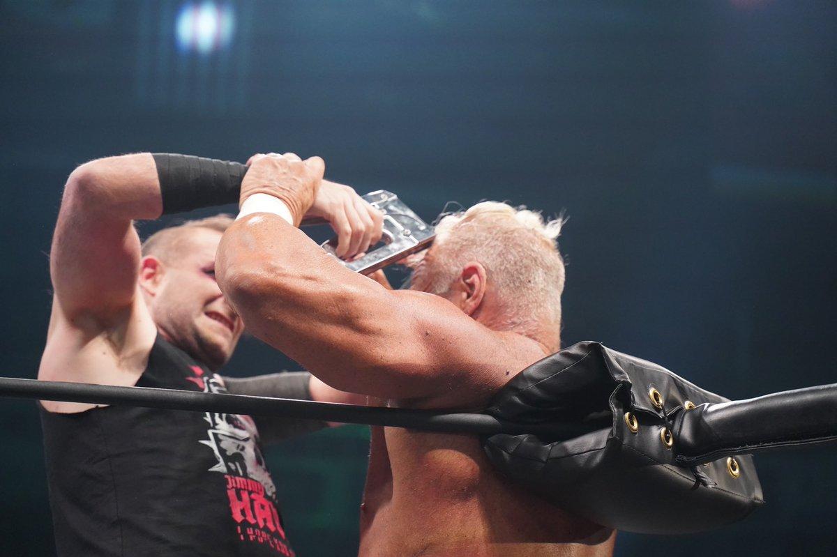 AEW Announces Fine To Jimmy Havoc For Staple Gun