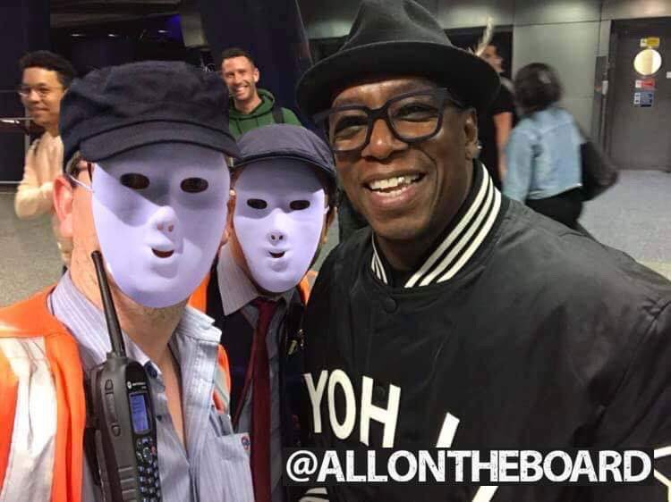 We were lucky enough to meet @IanWright0 shortly before he went to the jungle and he was one of the loveliest people you could meet. We want Ian Wright, Wright, Wright to be King of the Jungle. @allontheboard #TeamIan #ImACeleb #IanWright @imacelebrity #allontheboard
