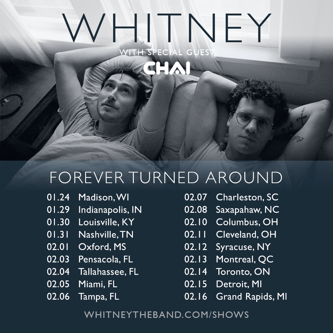 So excited to have @CHAIofficialJPN joining us this winter. You do not want to miss this! whitneyband.live/tour