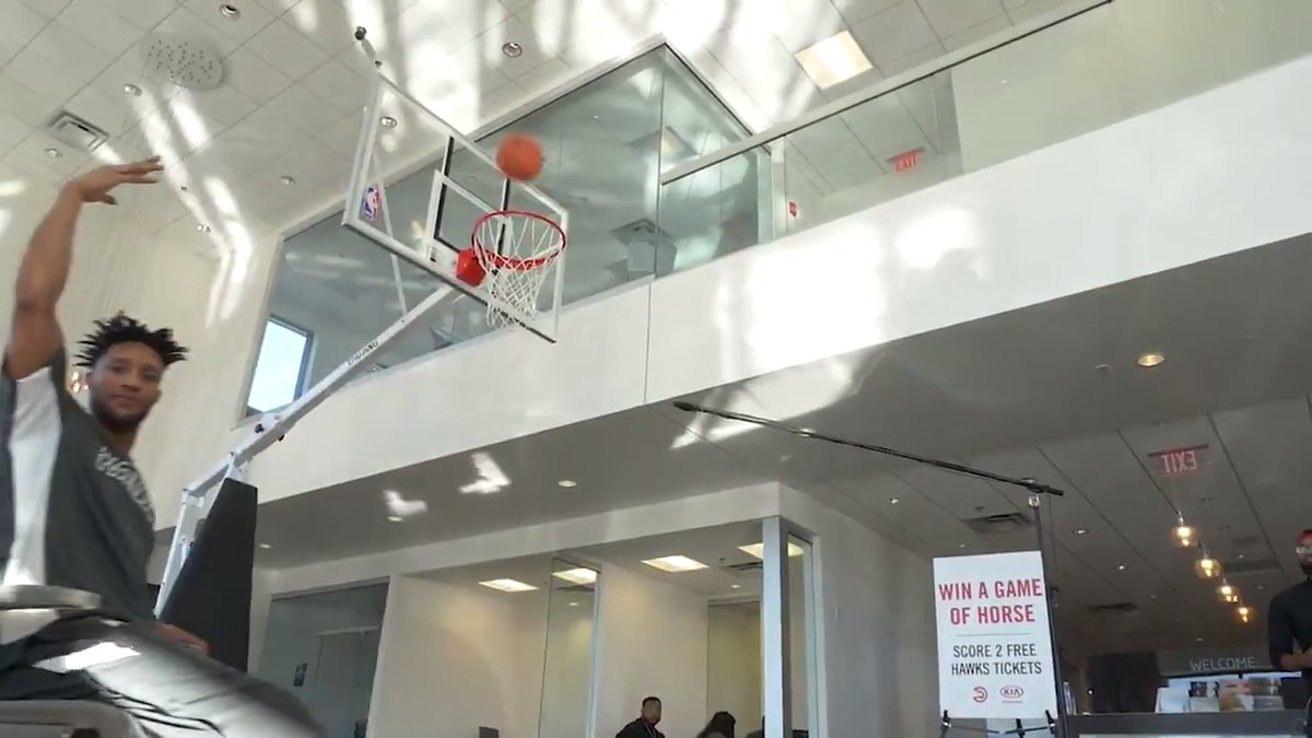 Think you can beat @thekidet in HORSE for a pair of Hawks tickets?   There's an easier way: visit a Metro-Atlanta @Kia dealership for a test drive and get a pair of tickets to an upcoming Hawks home game!   Watch the full video and learn more: http://on.nba.com/35s31iS