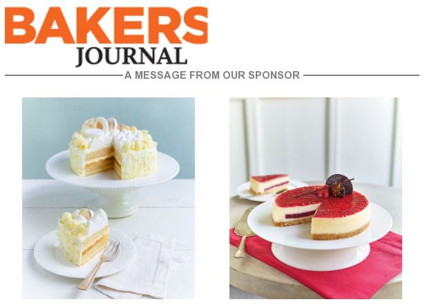 In case you missed today's E-blast from Bakers Journal  https://t.co/3FWYHg5MFv https://t.co/r89bz0p3n3