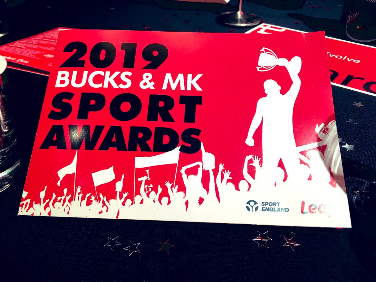 Honoured to be at the @Leap_BMK Bucks & MK Sports Awards tonight. A truly inspirational evening - congratulations to all involved and good luck to all the nominees. #BestOfBMK #Football #ForAll