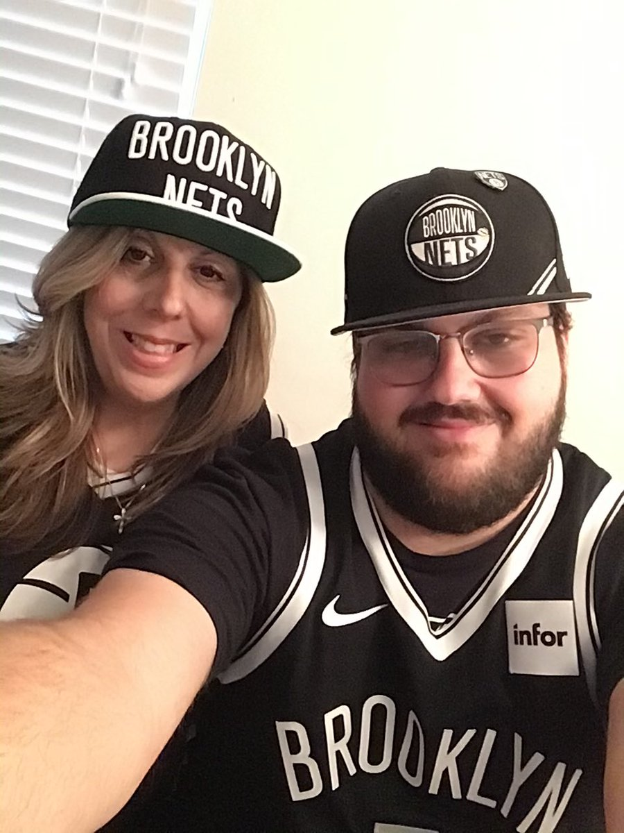 Going to @BrooklynNets game tonight with my son, Tyler. Very excited! #WeGoHard