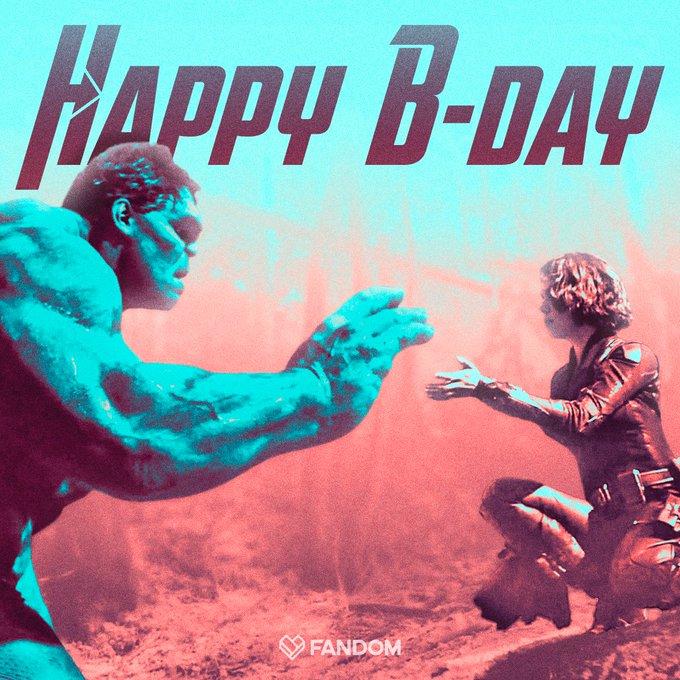 Happy Birthday to two legendary Avengers Mark Ruffalo and Scarlett Johansson