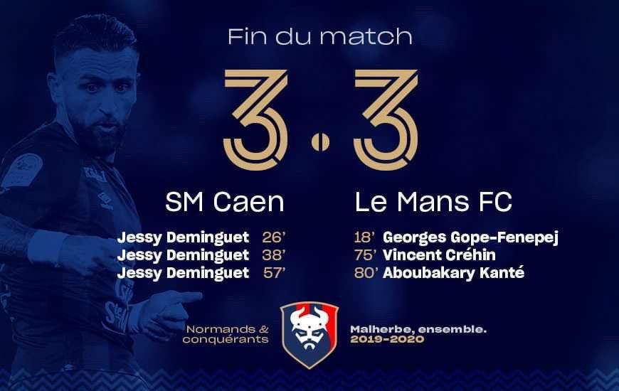 [15e journée de L2] SM Caen 3-3 Le Mans FC EKAVt4PWoAMqSZi