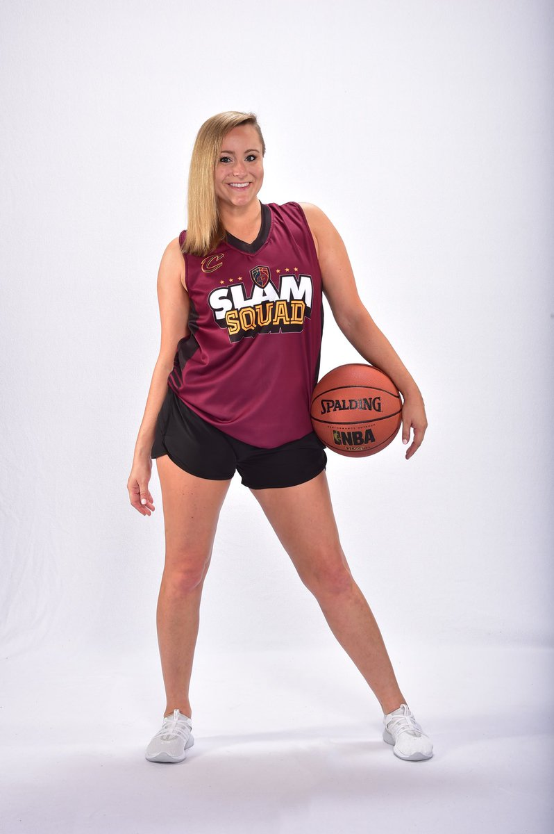 Join Jenna and the rest of the #CavsSlamSquad at tonight's #CantonCharge game! Doors open at 6 PM! 🏀🏀 PC: @workingguyphoto #CantonCharge #Charge #CavsSlamSquad #Dunk #NBA #NBAGL #BeTheFight #ChargeUp