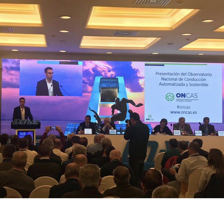 🗣ONCAS: Observatorio Nacional Conducción Automatizada y Sostenible #oncas @FundacionCNAE @energiacat #work #fac #cnae @transit @IDAEenergia @FMobjetivocero https://t.co/88gmlaEehl