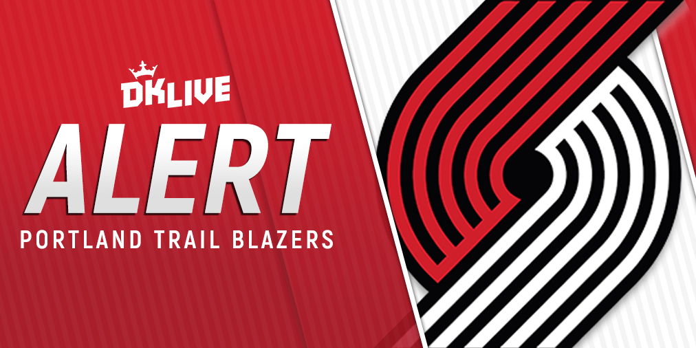 NBA LINEUP ALERT: trailblazers PG Damian Lillard (back) is probable for Saturday's game vs. the cavs. C Hassan Whiteside (hip) is questionable. Analysis: http://live.draftkings.com #RipCity #BeTheFight