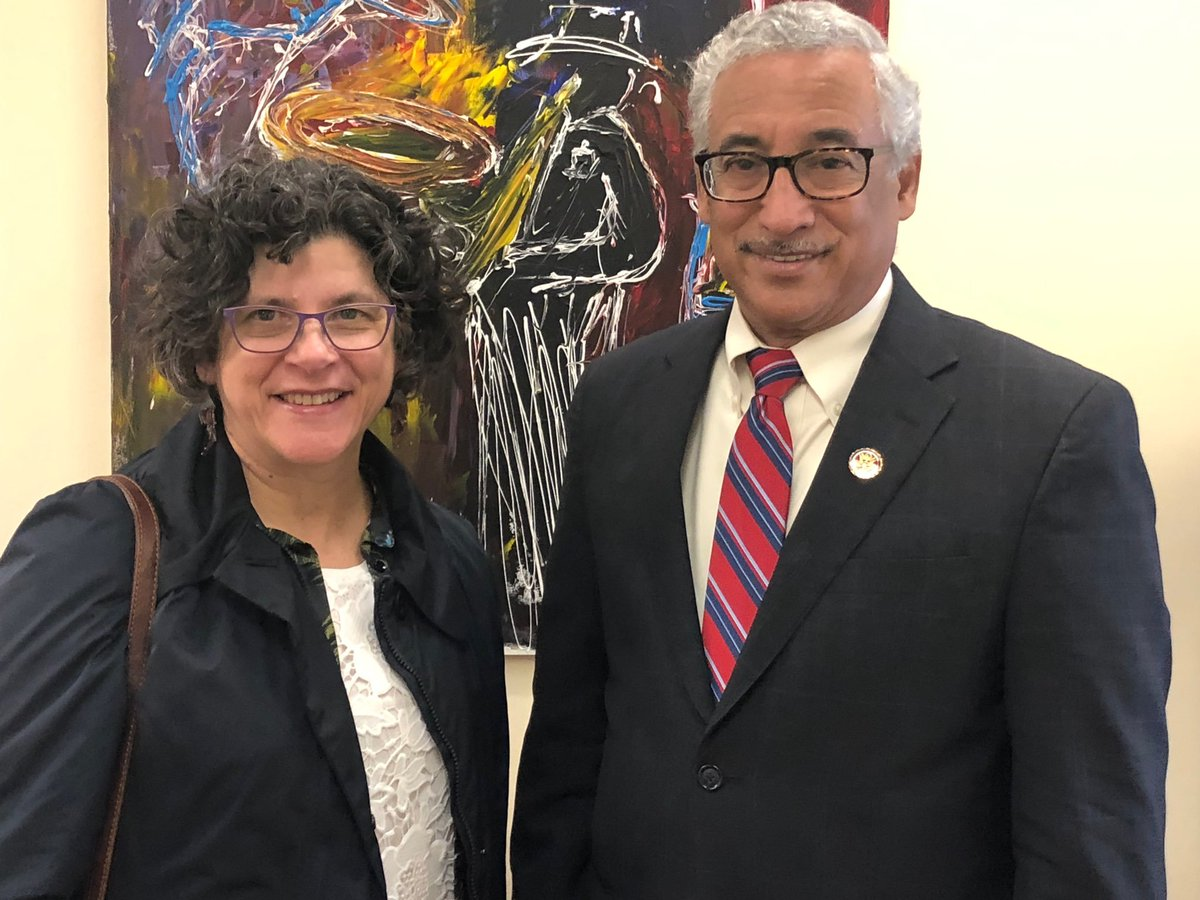 Thank you Chairman @BobbyScott for meeting with NPF Board Member Dr. Van Voorhees about the #SafeStepAct to extend #steptherapy protections to over 150 million Americans. #NPFadvocacy