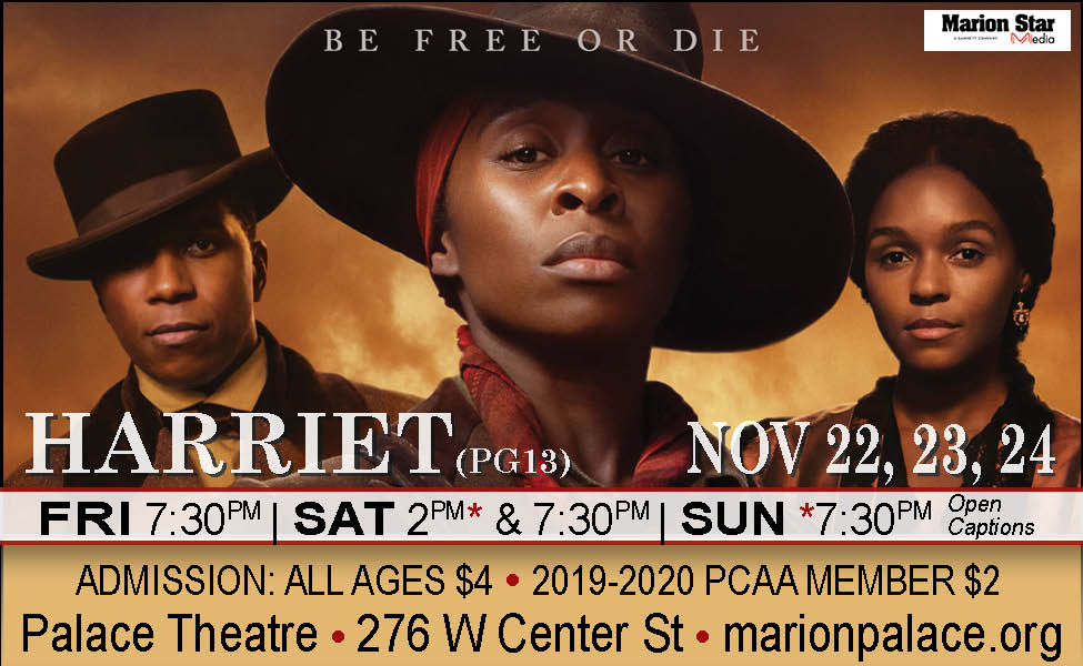 harriet movie times near me