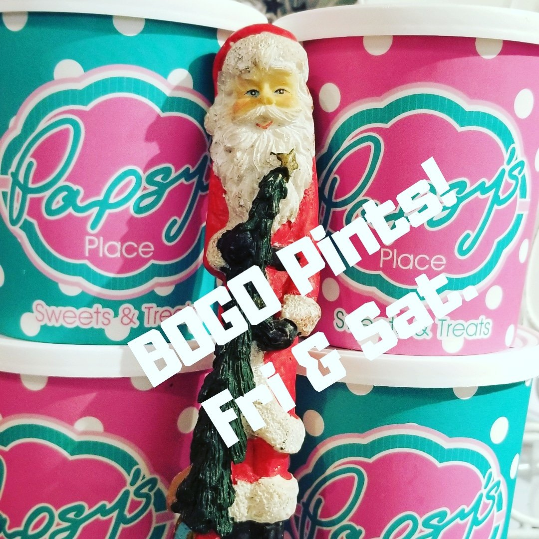 #Buy 1, Get 1 free Pint Sale this weekend, Friday and Saturday while supplies last.  Limited to what is available in our freezer stock.  #BuylocalCC #BOGOSale #StockUpForWinter https://t.co/C6Yv9Kmd89