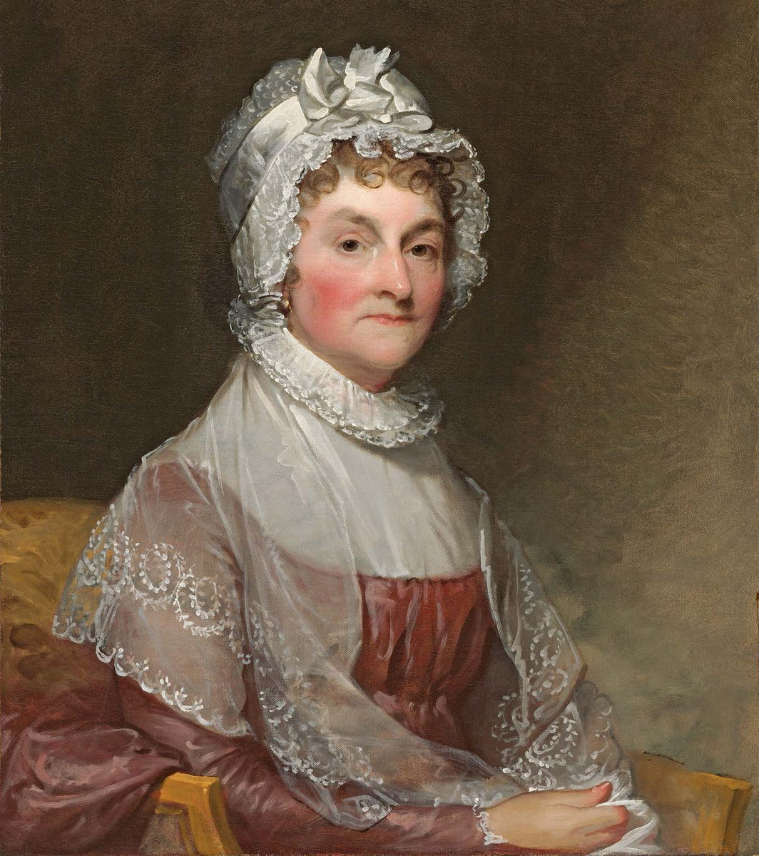 Abigail Adams (1744-1818) was born 275 years ago today:     #Stuart