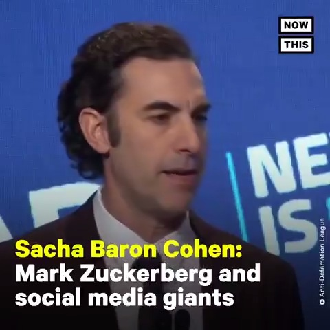 'If Facebook were around in the 1930s, it would have allowed Hitler to post 30-second ads' — Listen to Sacha Baron Cohen slam the social media industry for facilitating the spread of hate, lies, and conspiracies https://t.co/QinOnNRvxv