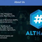 Image for the Tweet beginning: As always, #AltHash powered by