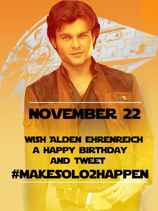 Happy Birthday Alden Ehrenreich!