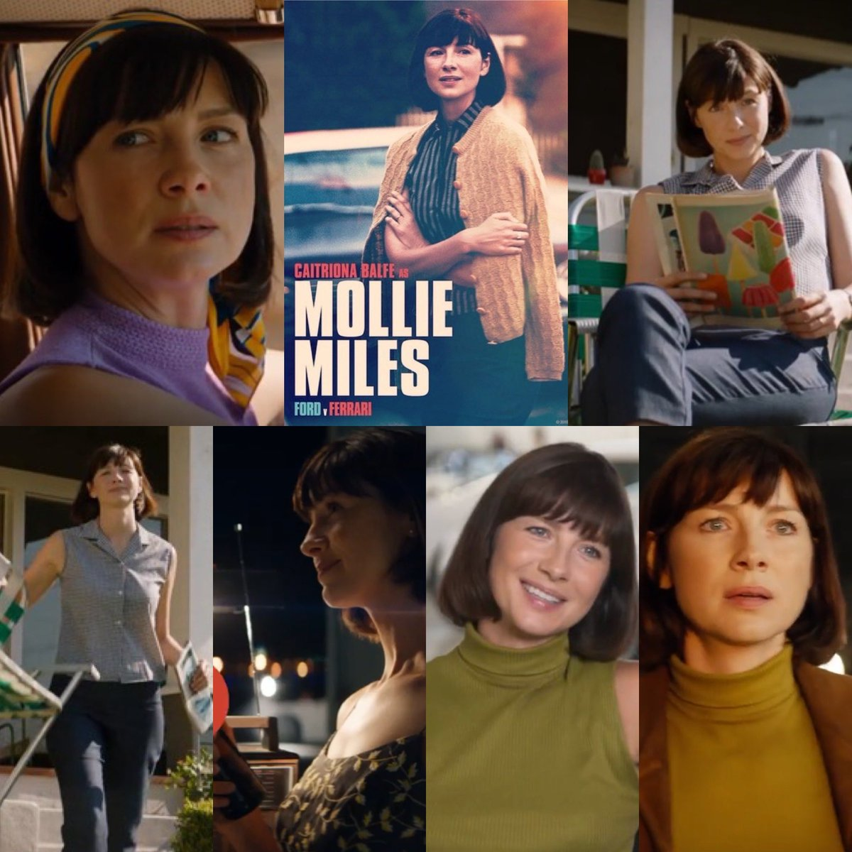Caitríona Balfe On Twitter What Do You Mean You Haven T Gone To See Fordvferrari Yet Lemans66 Is In Theatres Now See What S Got Molllie All Riled Up 20thcenturyfox Https T Co Y4aegcej0k