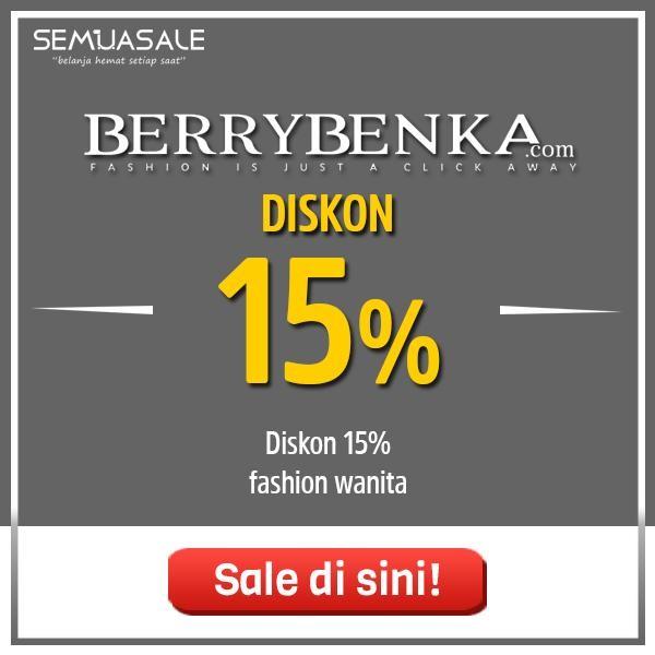 Selamat berakhir pekan, waktunya belanja fashion hemat di Berrybenka! Nikmati diskon 15% untuk berbagai item fashion favoritmu. Belanja tanpa galau, hanya di Berrybenka pastinya. Yuk, belanja sekarang! . Info selengkapnya https://t.co/ibruX0cYYc @Berrybenka https://t.co/lJzGyaLalh