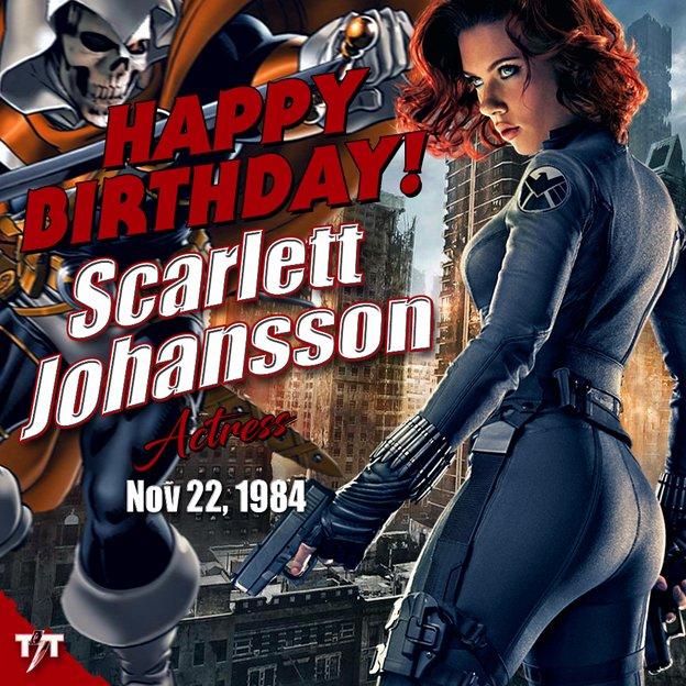 HAPPY 35th BIRTHDAY! Scarlett Johansson