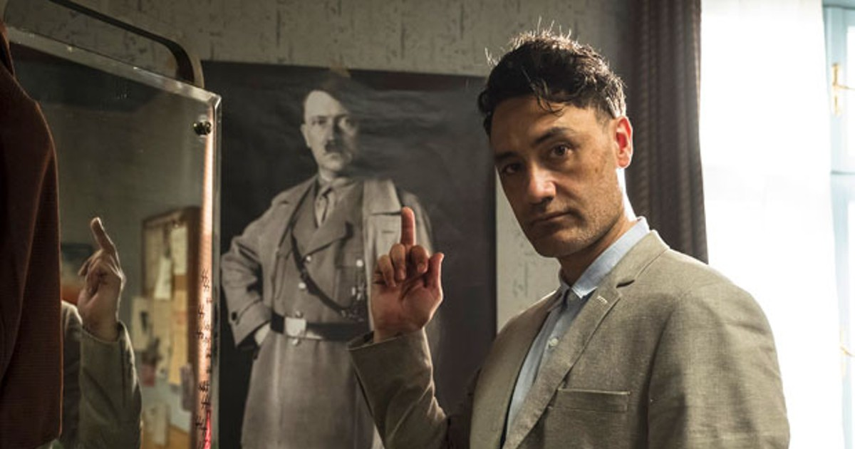 """SCREEN—""""Jojo Rabbit"""" confronts hate with a giant middle finger and elevates director Taika Waititi into another stratosphere of filmmaking. 🍿 #letsgotothemovies #inbend #jojorabbit"""