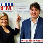 Image for the Tweet beginning: Mary Nan Huffman has officially