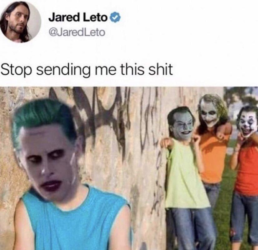 Jared Leto's Sobbing #SoundFromTheBasement