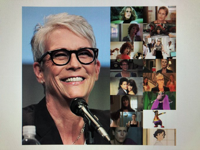 Happy 61st Birthday to actress, author, and activist, Jamie Lee Curtis!