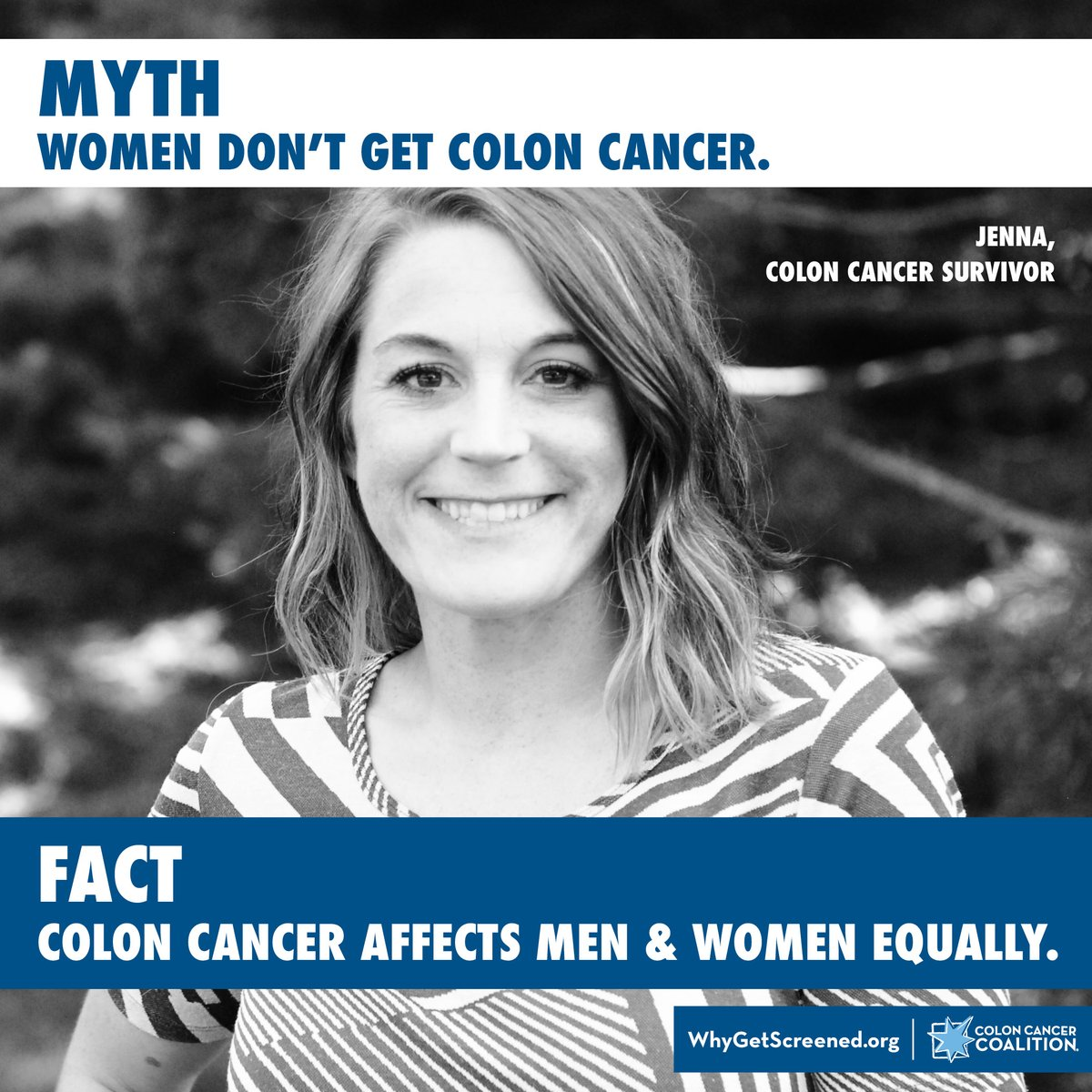 Men and women are at equal risk of developing colon or rectal cancer. ow.ly/WFaf50xc7pV