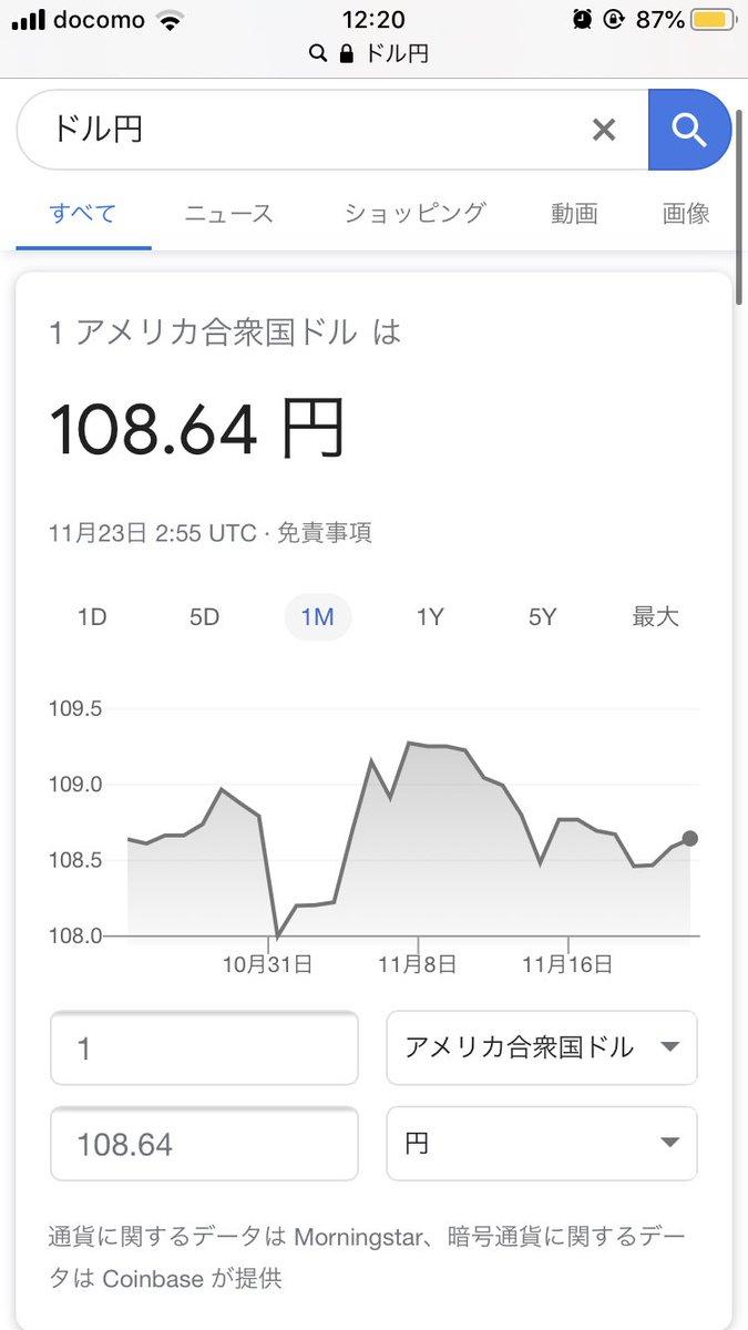 ドル か 円 です 1 は 何