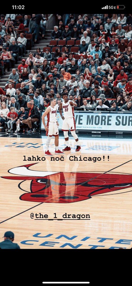 lahko noč Chicago!! @Goran_Dragic https://t.co/4ibZE4yJQe