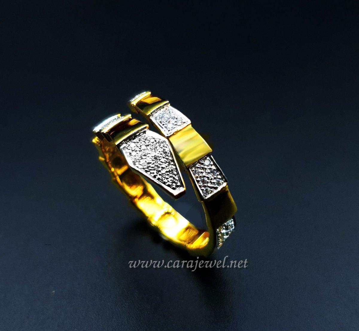 ใครชอบงูบ้าง??😀  #แหวนงู #แหวนคาเทีย #หแวนงูกินหาง #แหวนเพชร